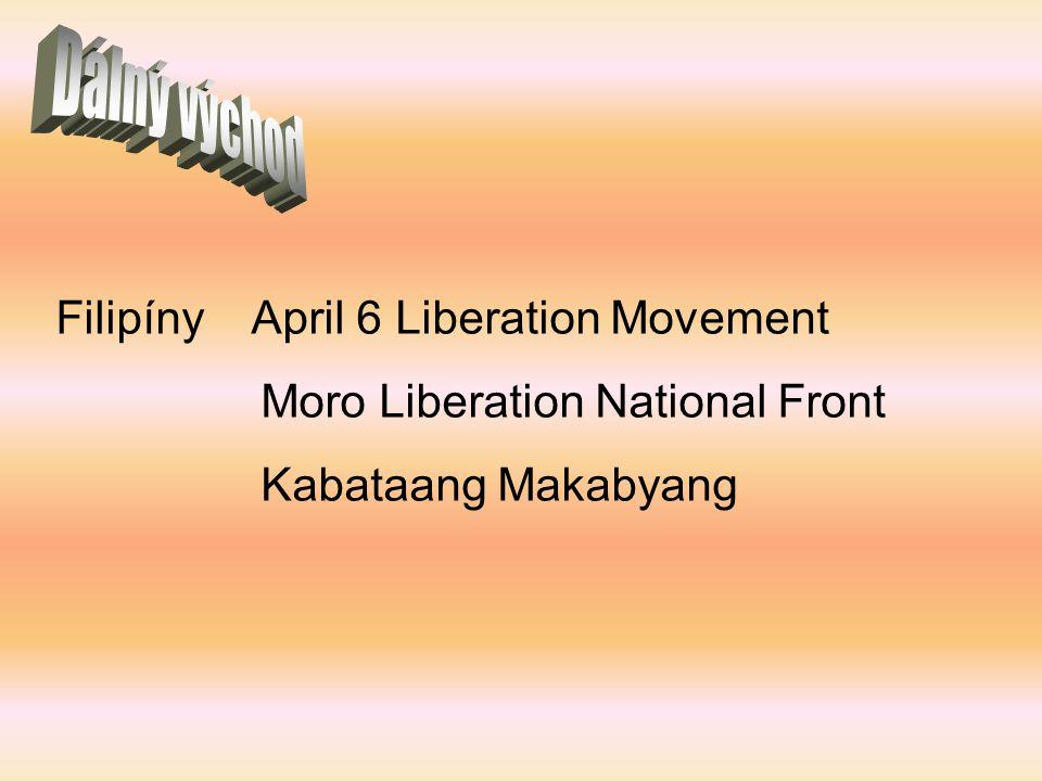 Dálný východ Filipíny April 6 Liberation Movement