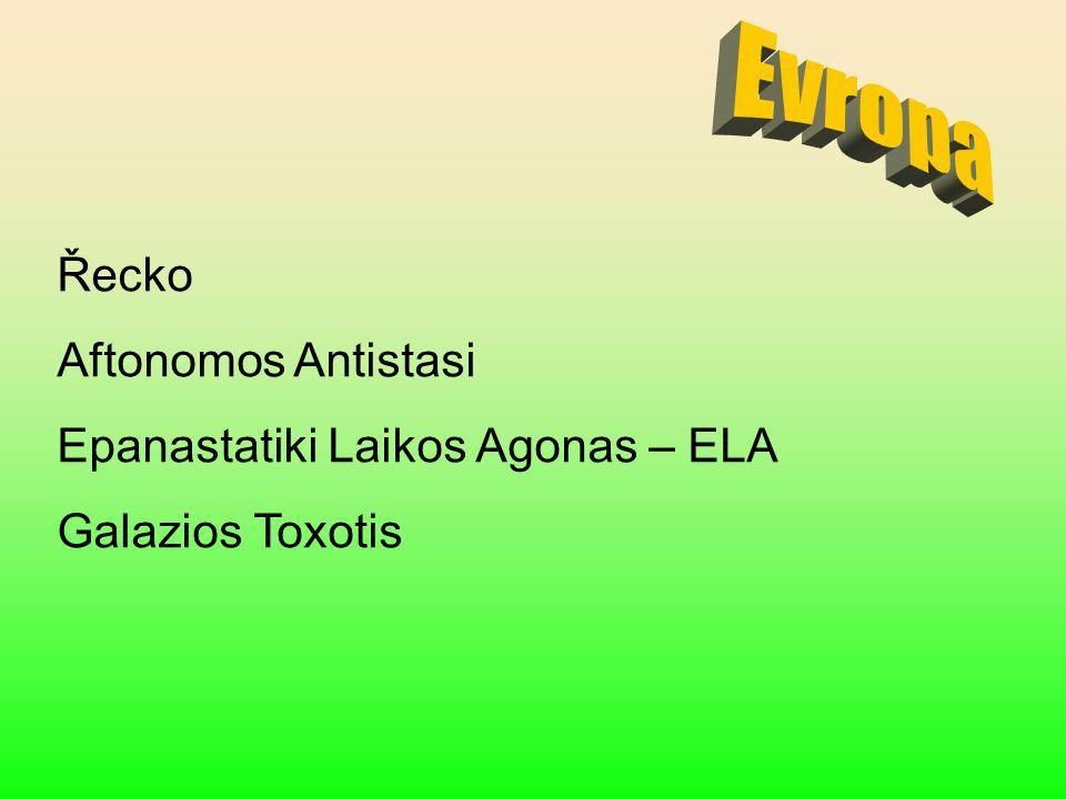Evropa Řecko Aftonomos Antistasi Epanastatiki Laikos Agonas – ELA