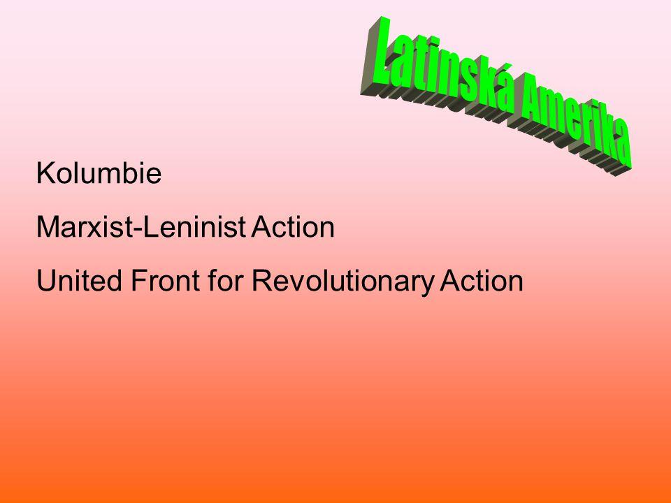 Latinská Amerika Kolumbie Marxist-Leninist Action