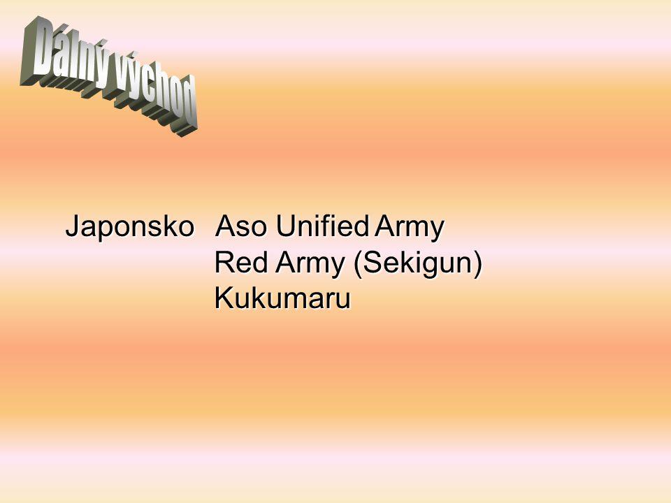 Dálný východ Japonsko Aso Unified Army Red Army (Sekigun) Kukumaru