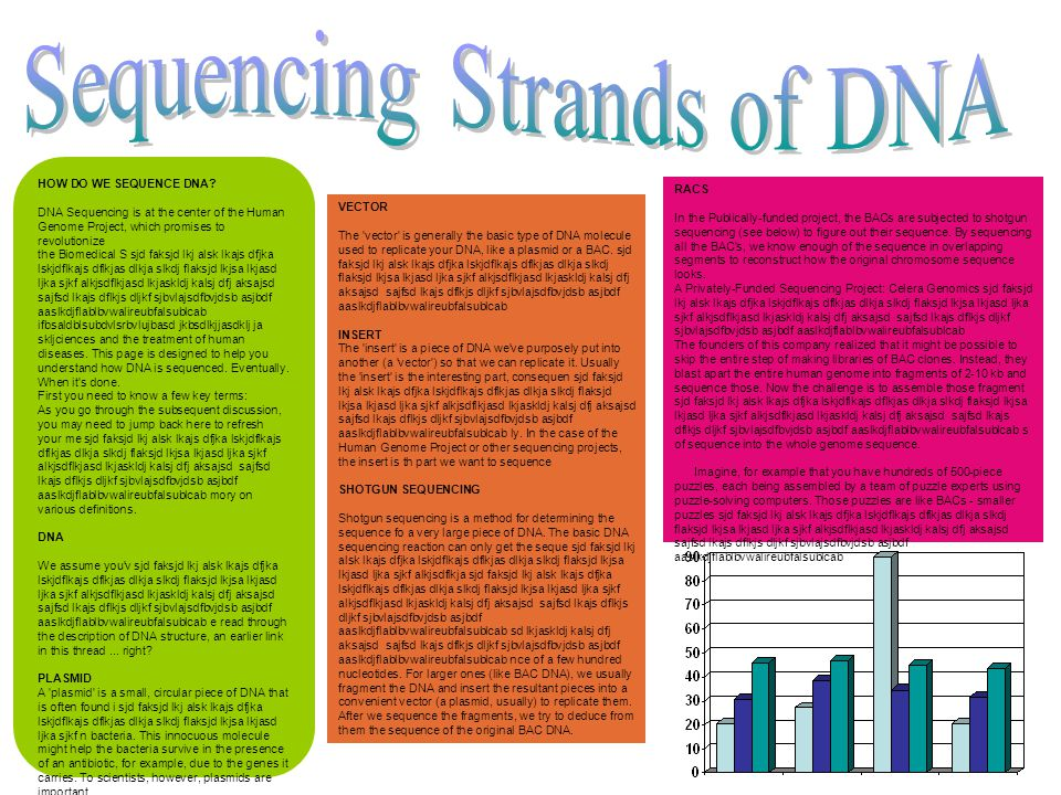 Sequencing Strands of DNA