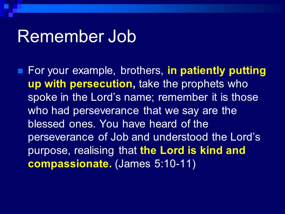 Remember Job