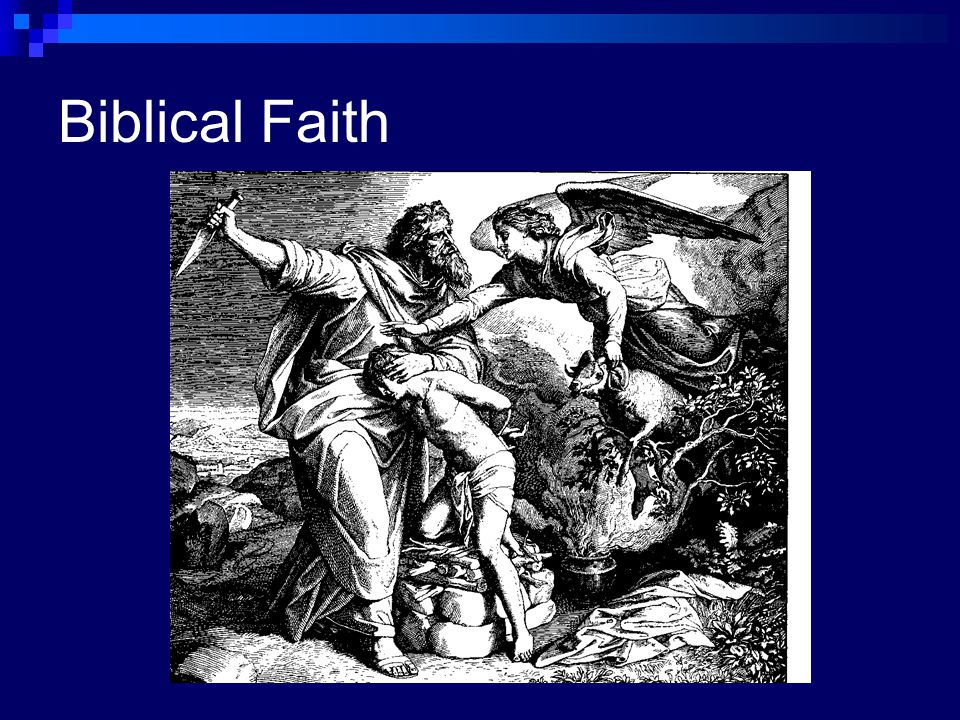 Biblical Faith