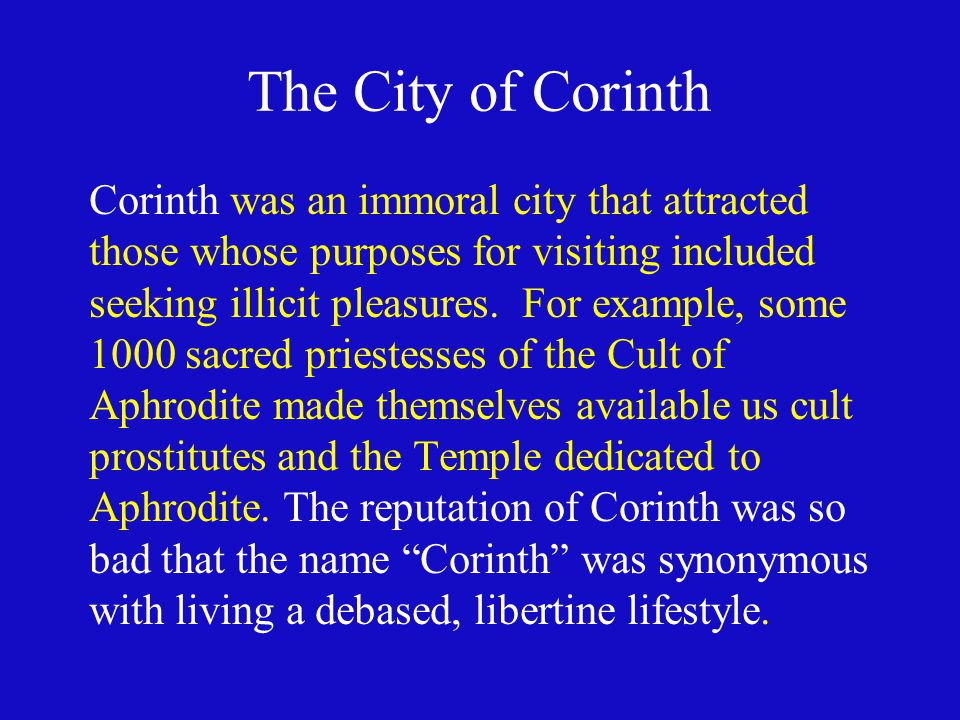 The City of Corinth