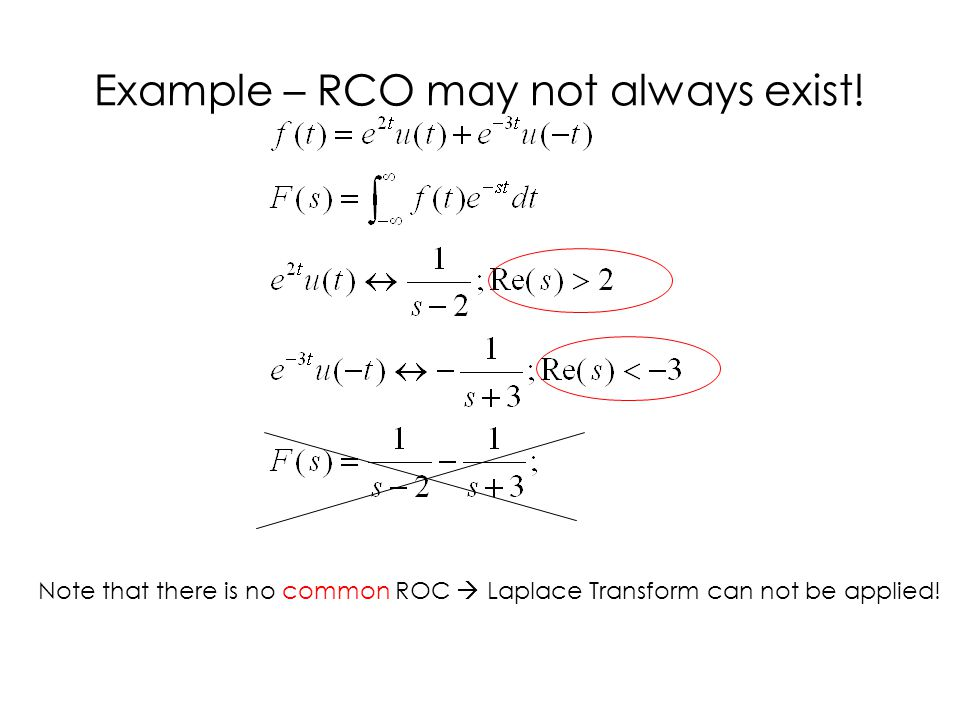 Example – RCO may not always exist!