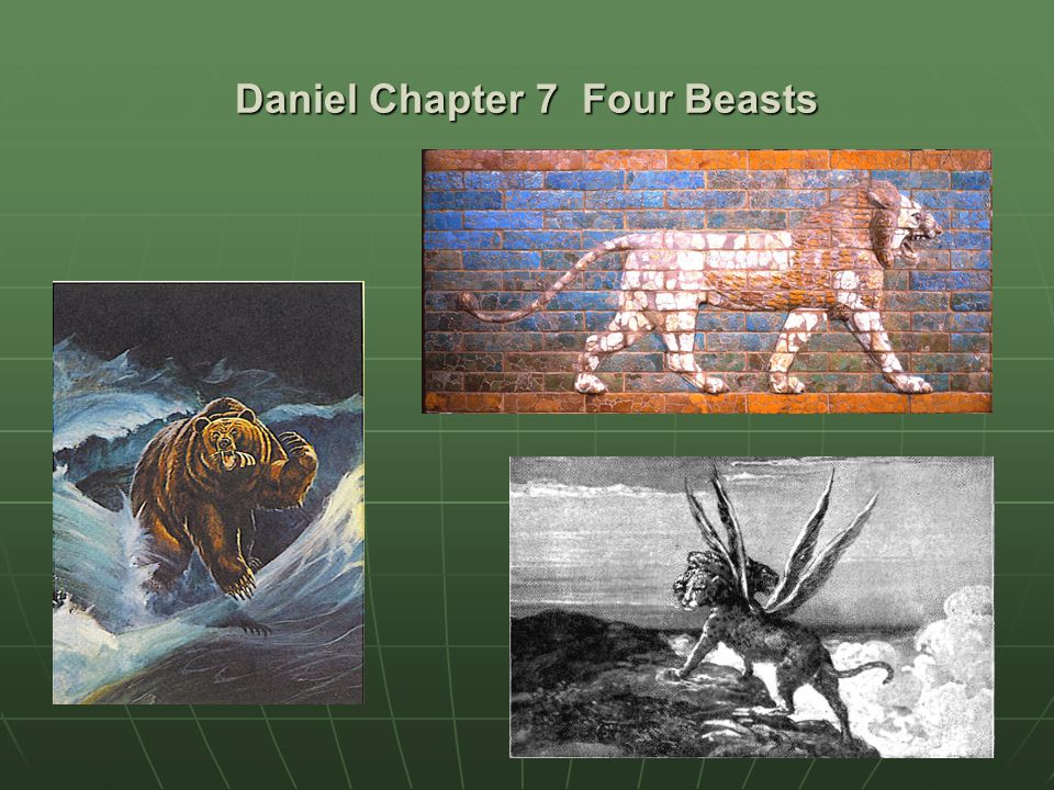 Daniel Chapter 7 Four Beasts