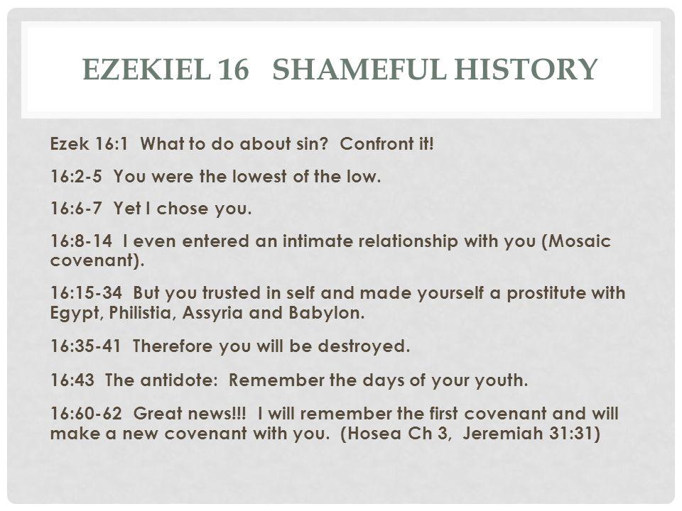 Ezekiel 16 Shameful history