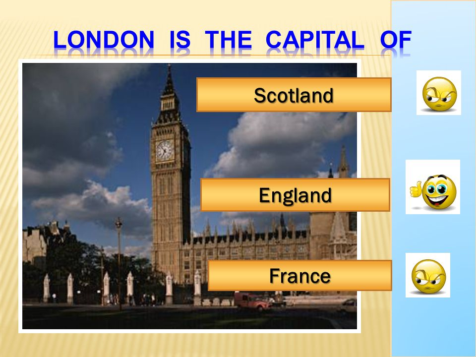 London is the capital of