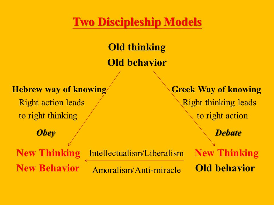 Two Discipleship Models