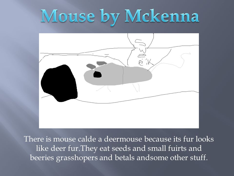 Mouse by Mckenna