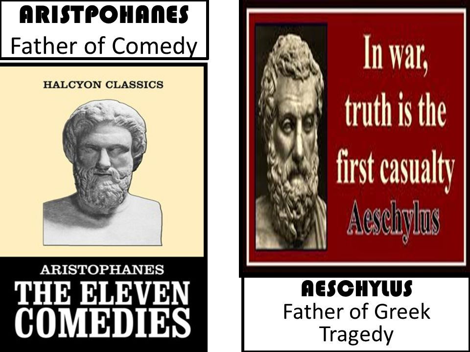 ARISTPOHANES Father of Comedy