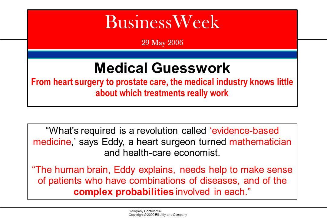 BusinessWeek Medical Guesswork
