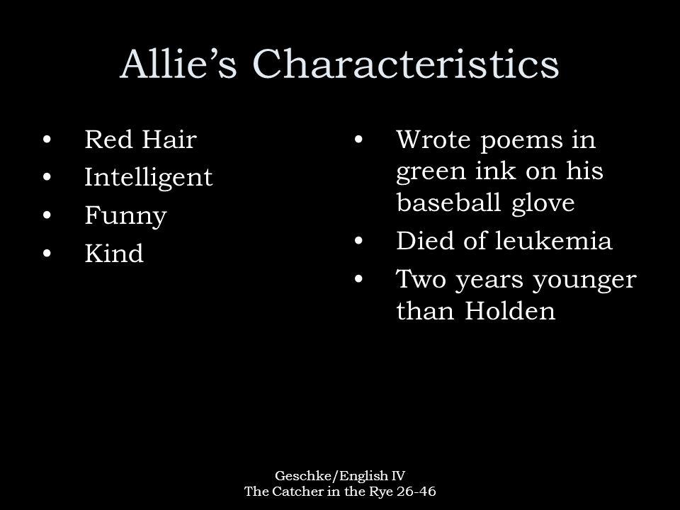 Allie's Characteristics