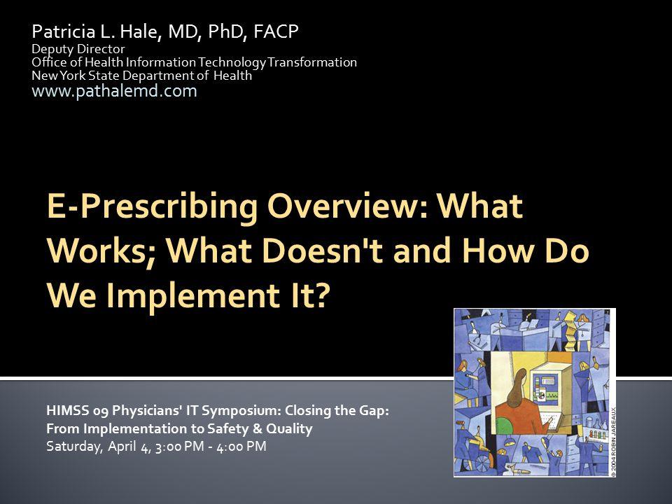 Patricia L. Hale, MD, PhD, FACP