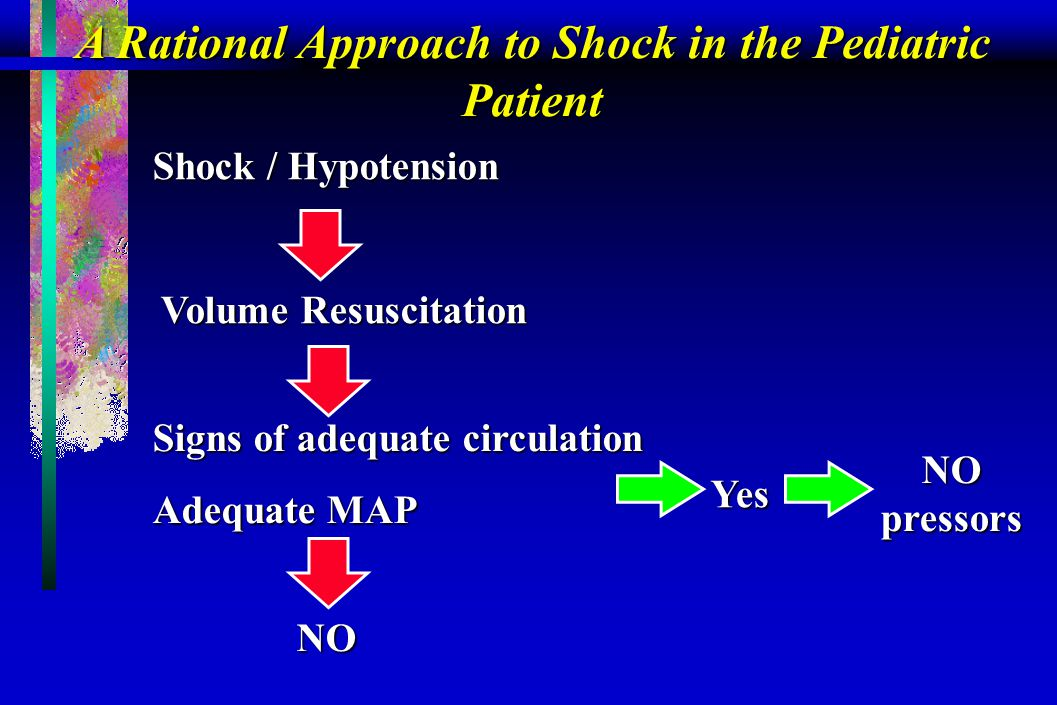 A Rational Approach to Shock in the Pediatric Patient