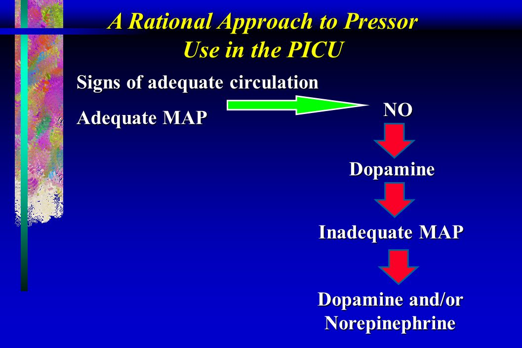 A Rational Approach to Pressor Use in the PICU