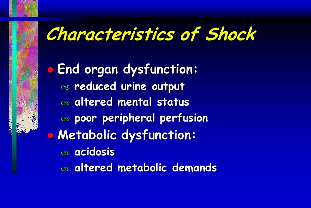 Characteristics of Shock