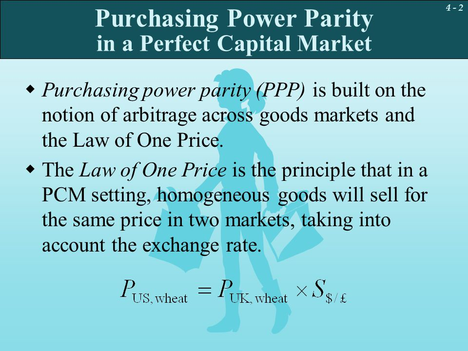 the purchasing power parity Purchasing power parity (ppp) is an economic term that calculates the relative value of different currencies when calculating gdp per capita, purchasing power parity gives a more accurate picture about a country's overall standard of living.