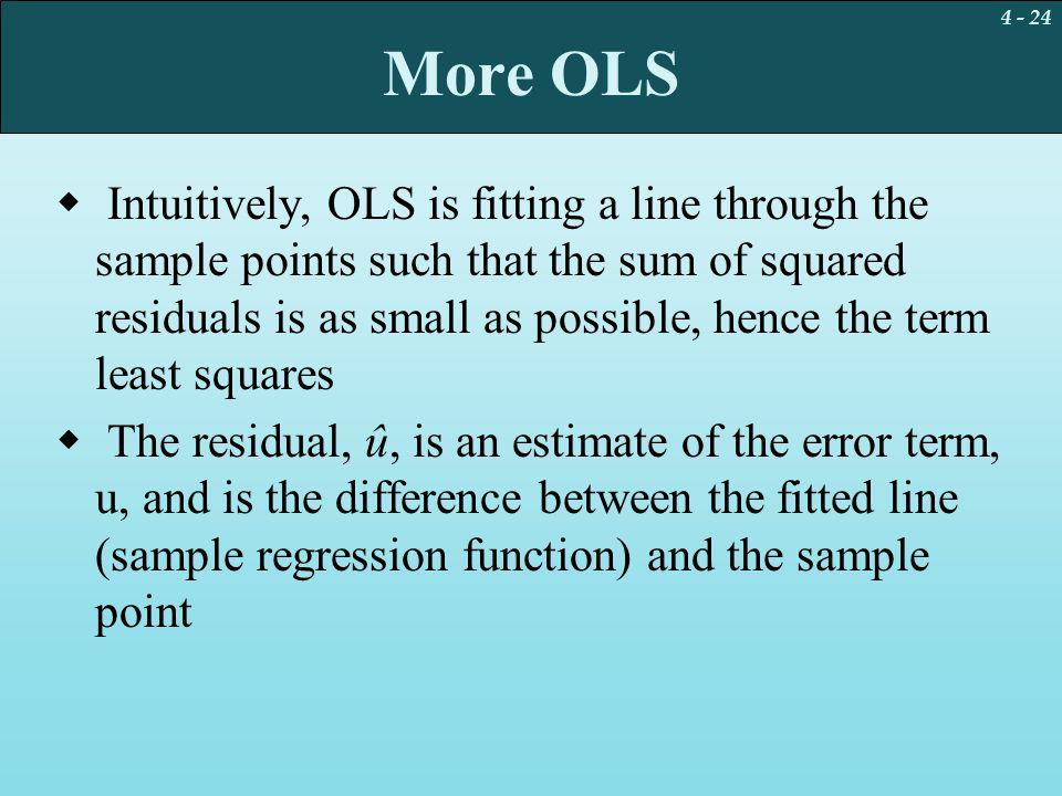 More OLS