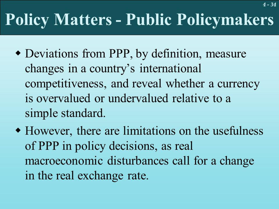 Policy Matters - Public Policymakers