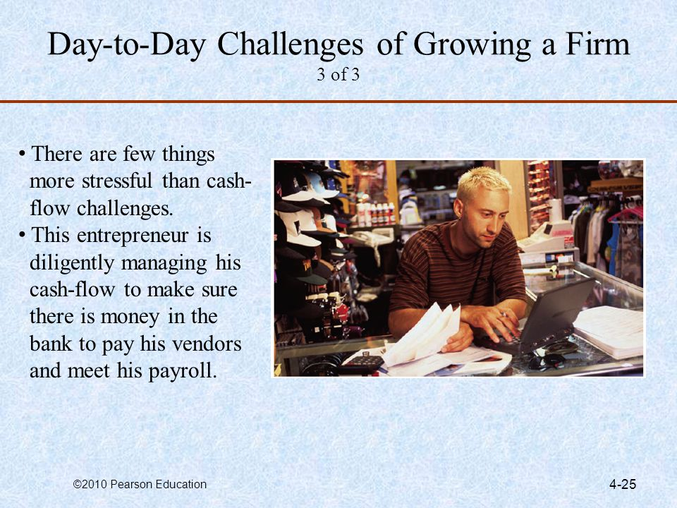 Day-to-Day Challenges of Growing a Firm 3 of 3
