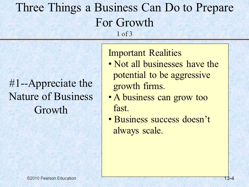 Three Things a Business Can Do to Prepare For Growth 1 of 3