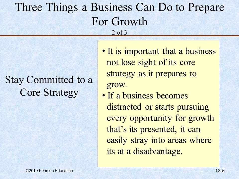 Three Things a Business Can Do to Prepare For Growth 2 of 3