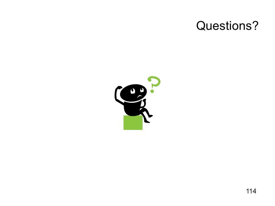 Questions 114