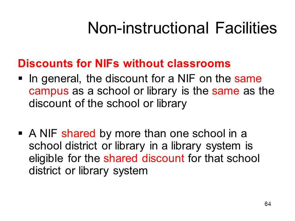 Non-instructional Facilities