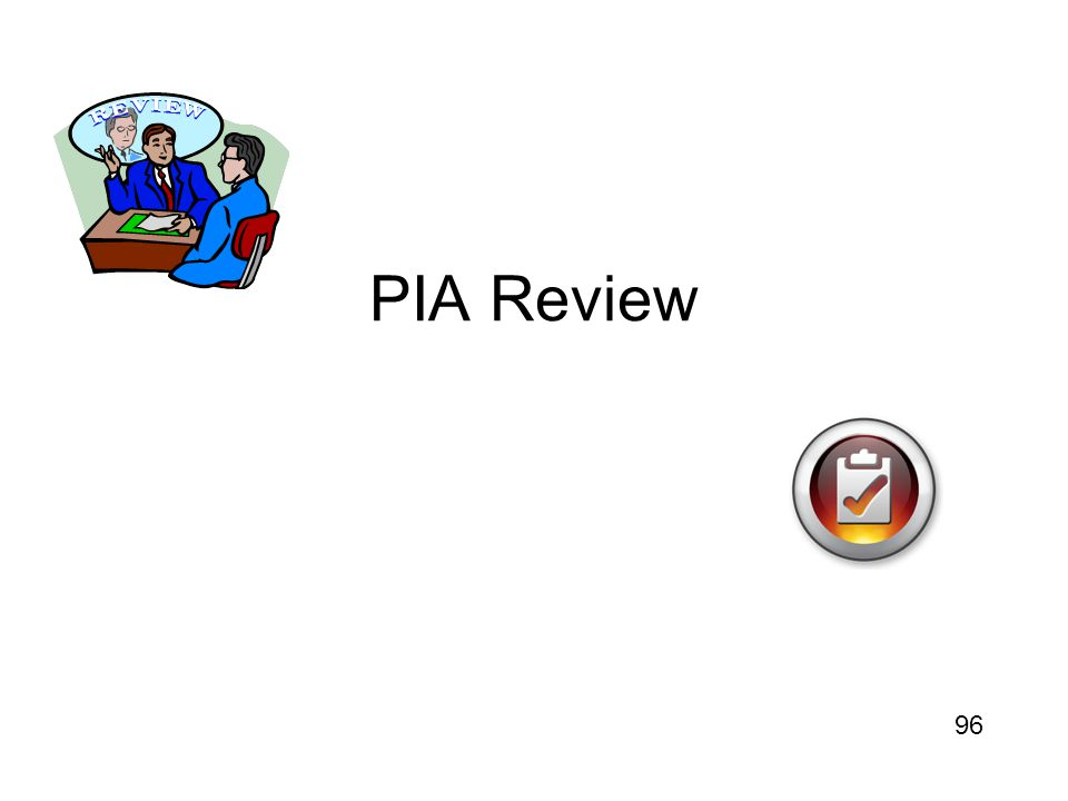PIA Review 96