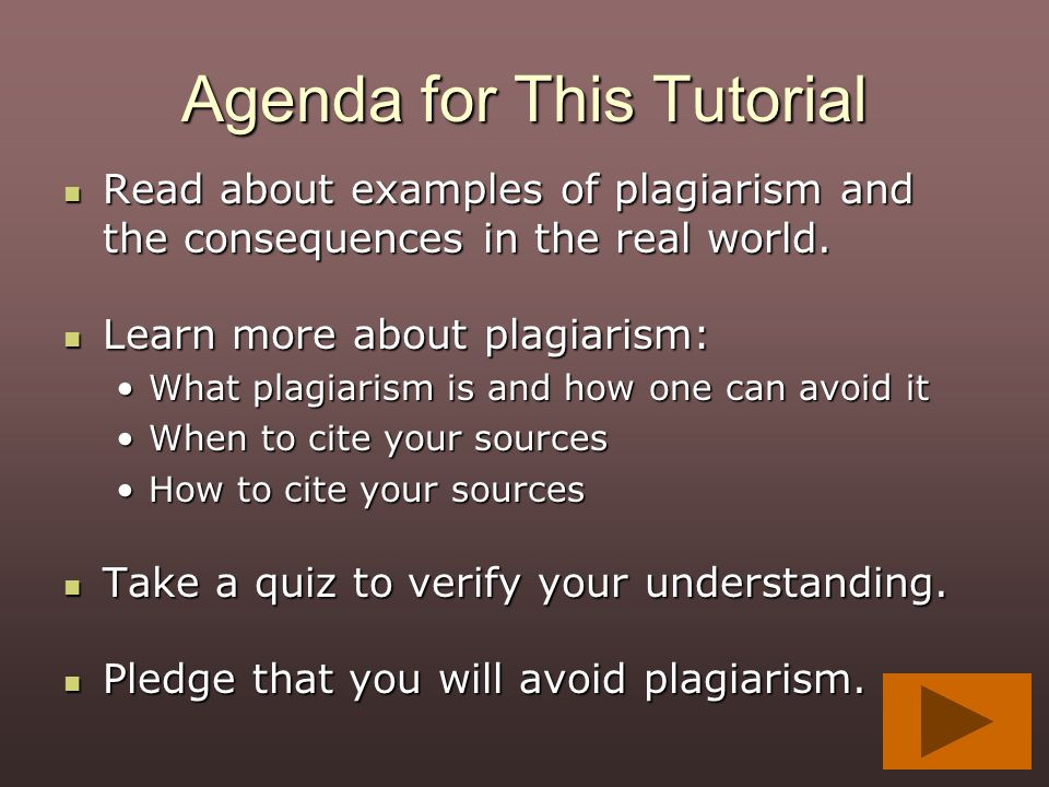 Agenda for This Tutorial