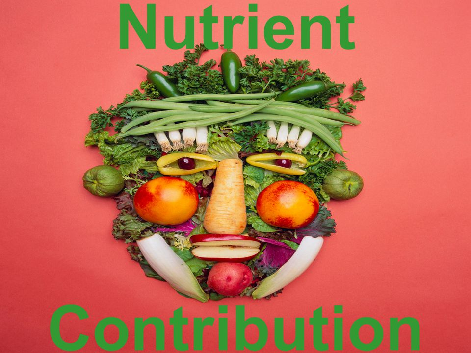 Nutrient Contribution
