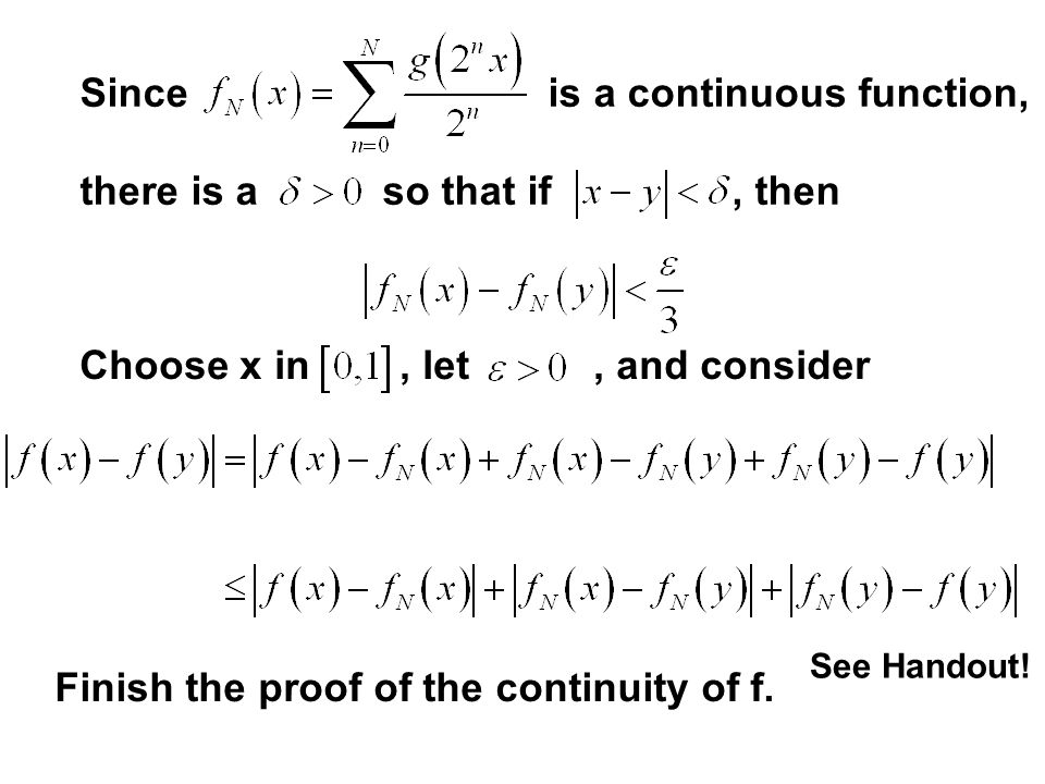 Since is a continuous function, there is a so that if , then