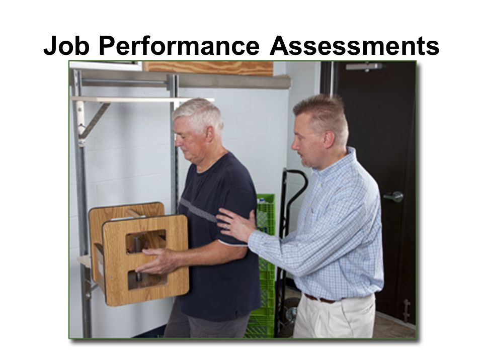 Job Performance Assessments