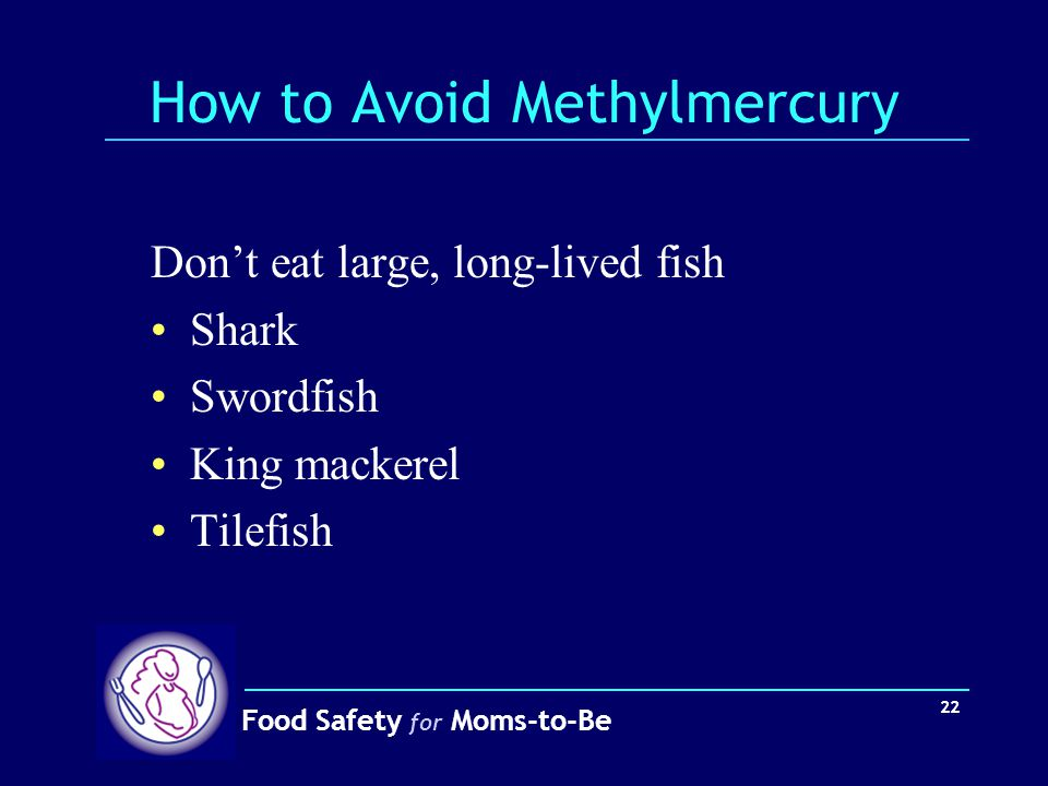 How to Avoid Methylmercury