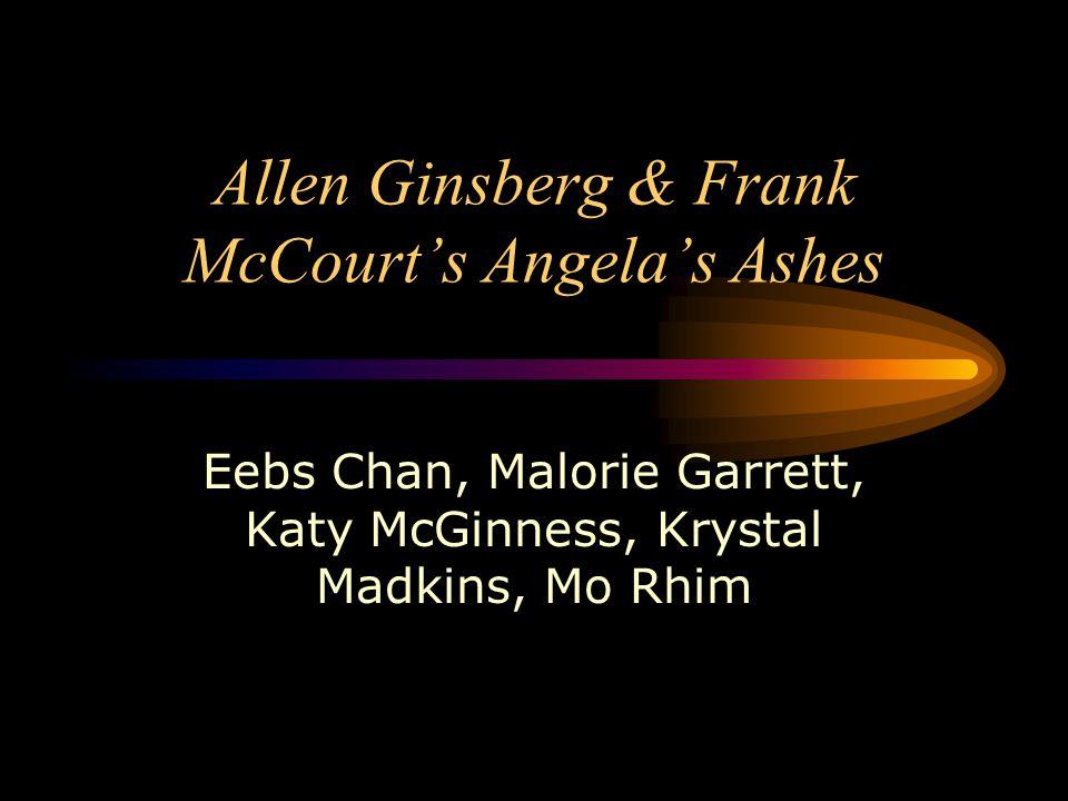 Allen Ginsberg & Frank McCourt's Angela's Ashes