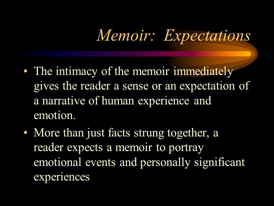 Memoir: Expectations