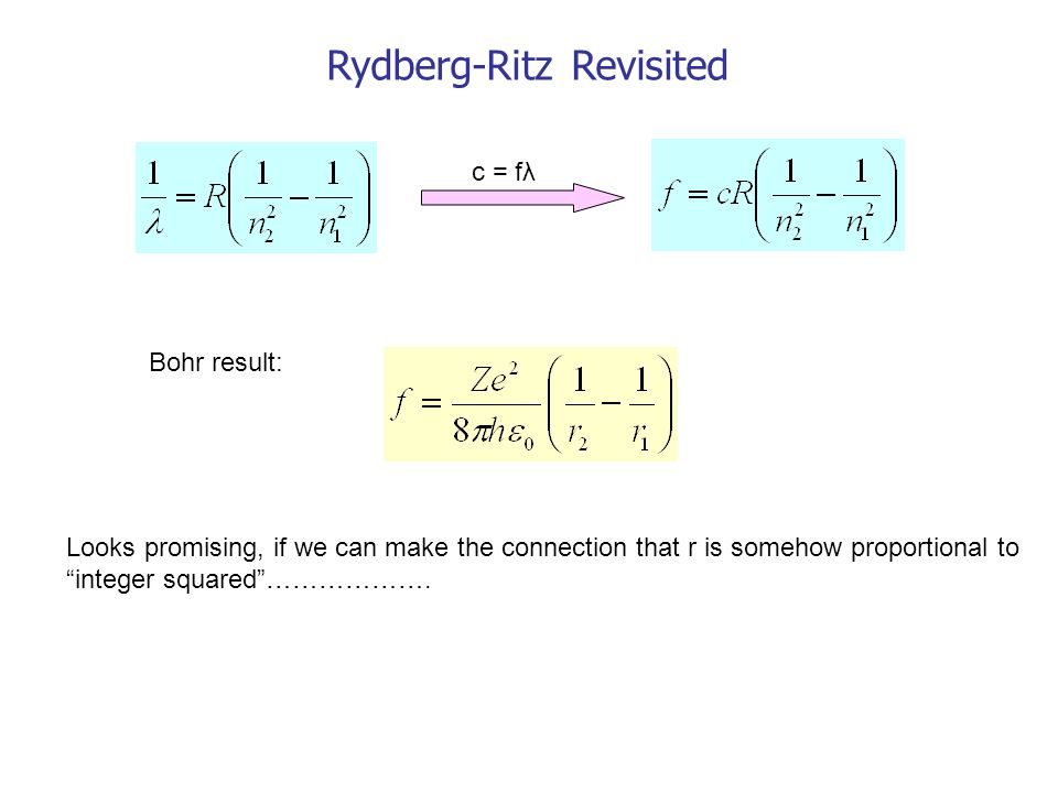 Rydberg-Ritz Revisited