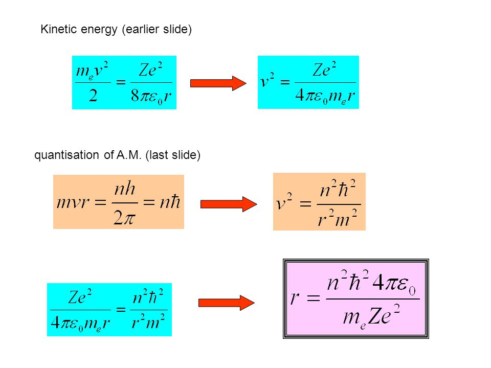 Kinetic energy (earlier slide)