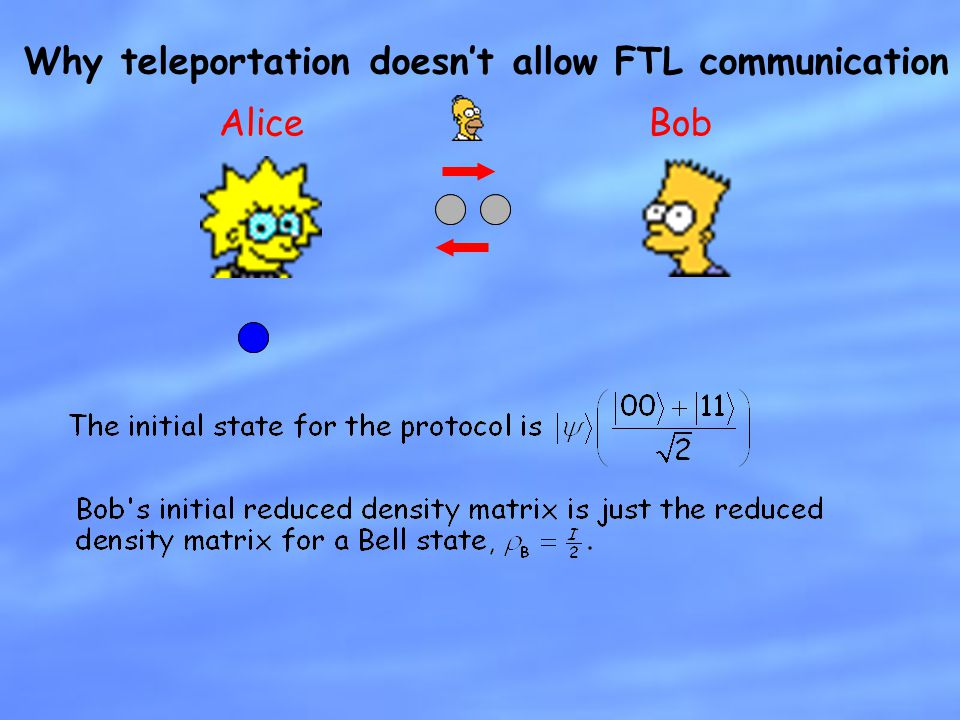Why teleportation doesn't allow FTL communication