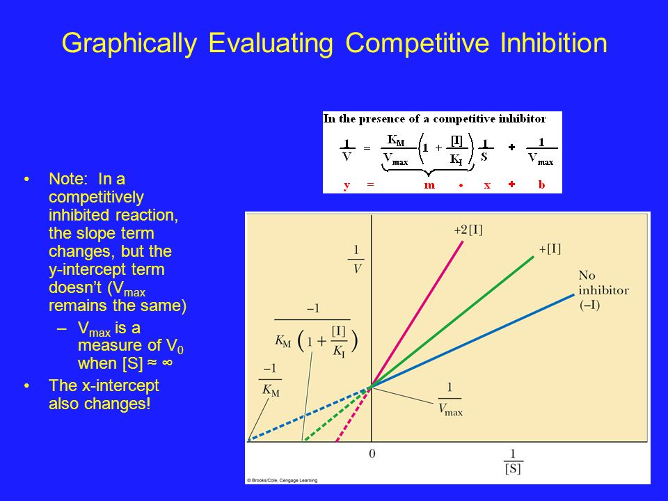 Graphically Evaluating Competitive Inhibition
