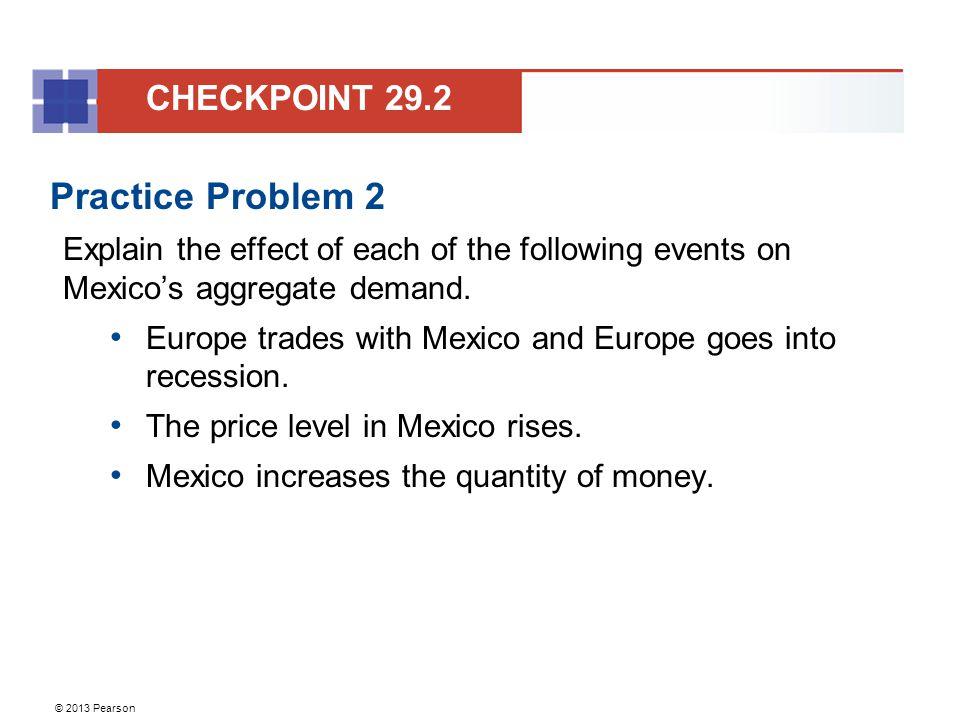 Practice Problem 2 CHECKPOINT 29.2