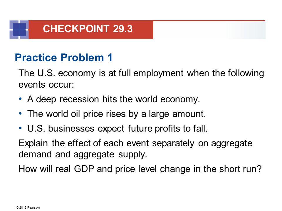 Practice Problem 1 CHECKPOINT 29.3