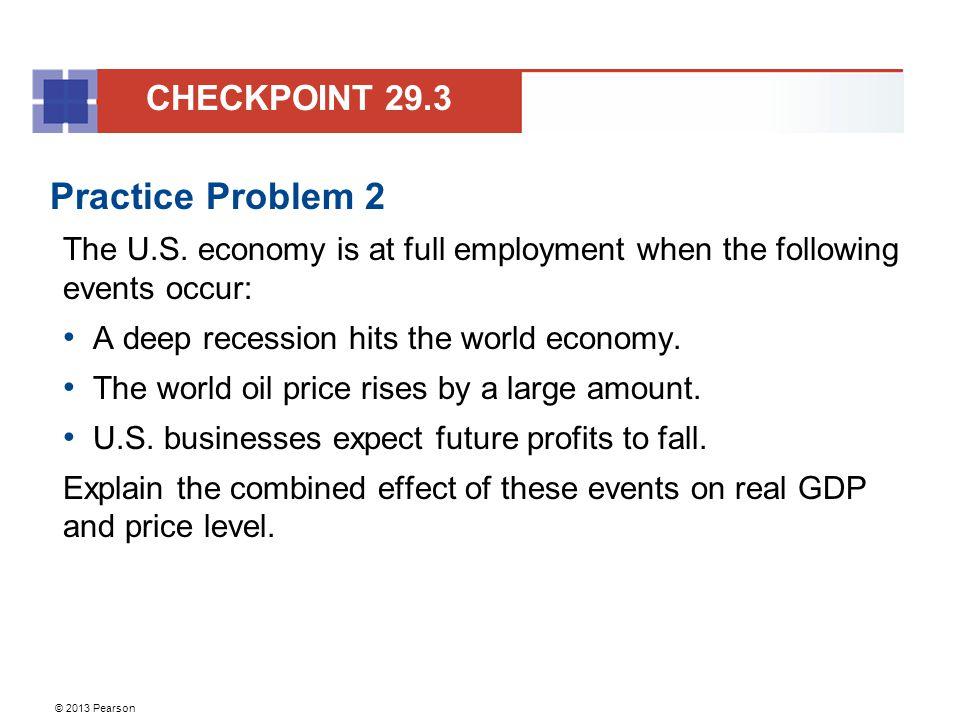 Practice Problem 2 CHECKPOINT 29.3