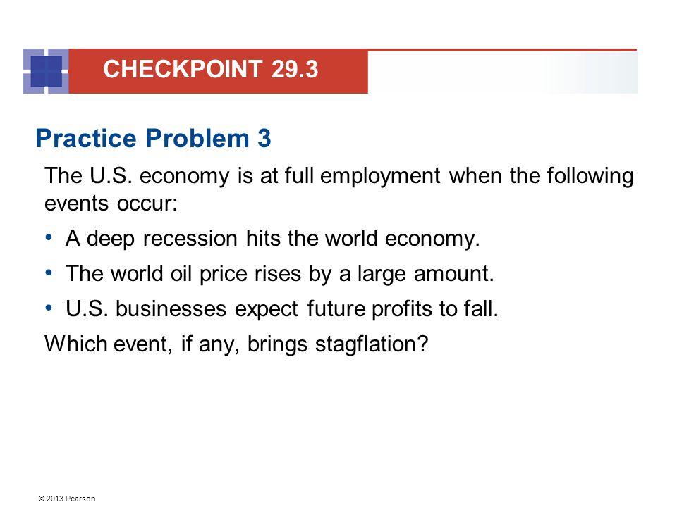 Practice Problem 3 CHECKPOINT 29.3
