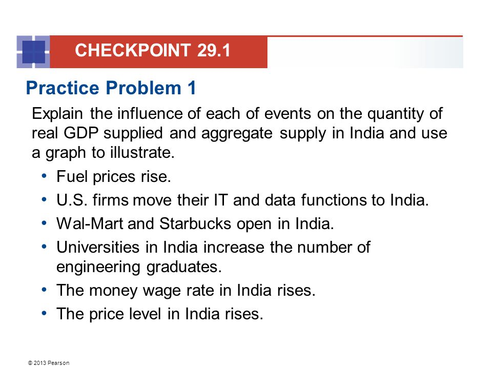 Practice Problem 1 CHECKPOINT 29.1