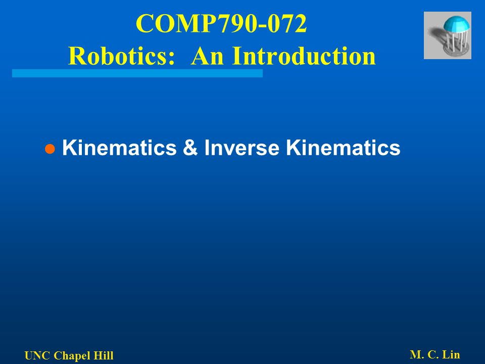 COMP Robotics: An Introduction
