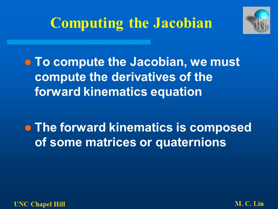 Computing the Jacobian