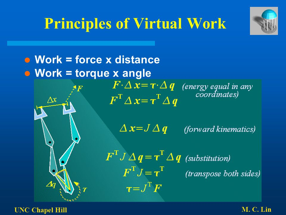 Principles of Virtual Work