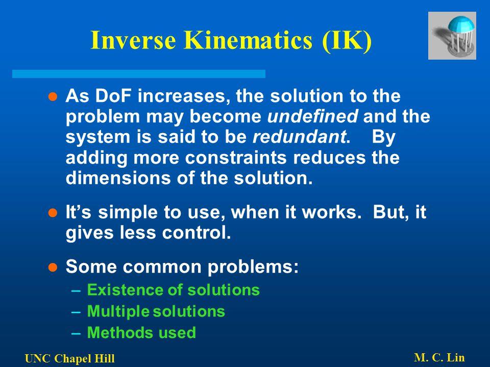 Inverse Kinematics (IK)